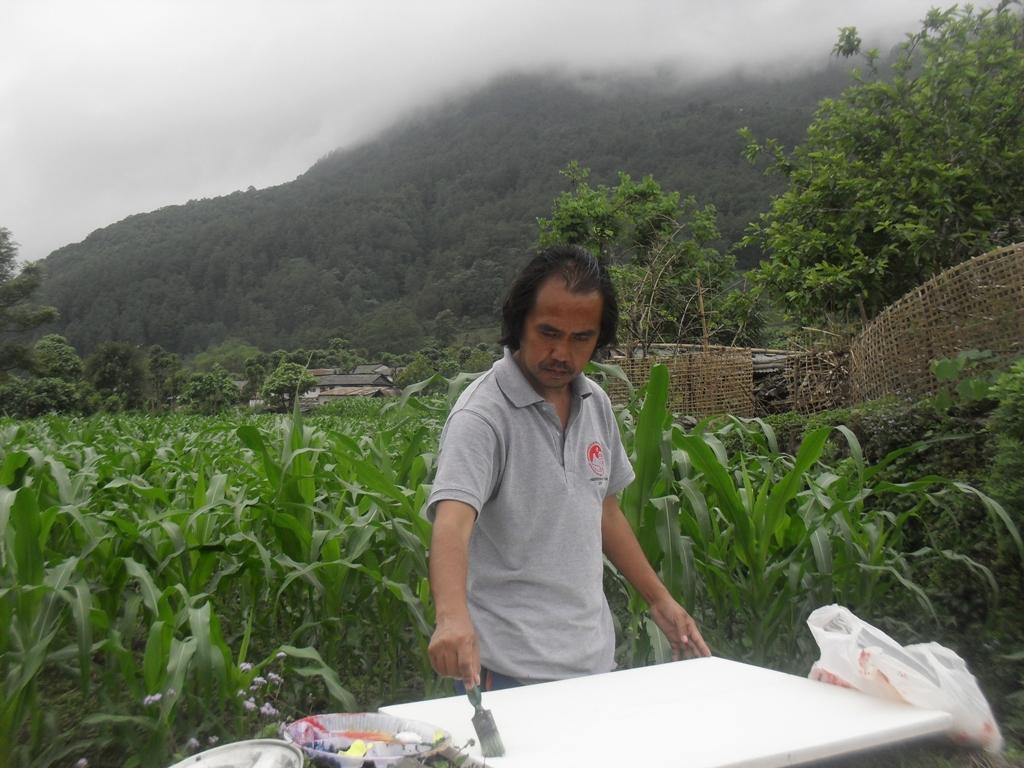 NB Gurung Artist