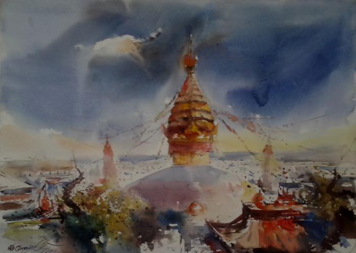 Syambhunath - Nepal