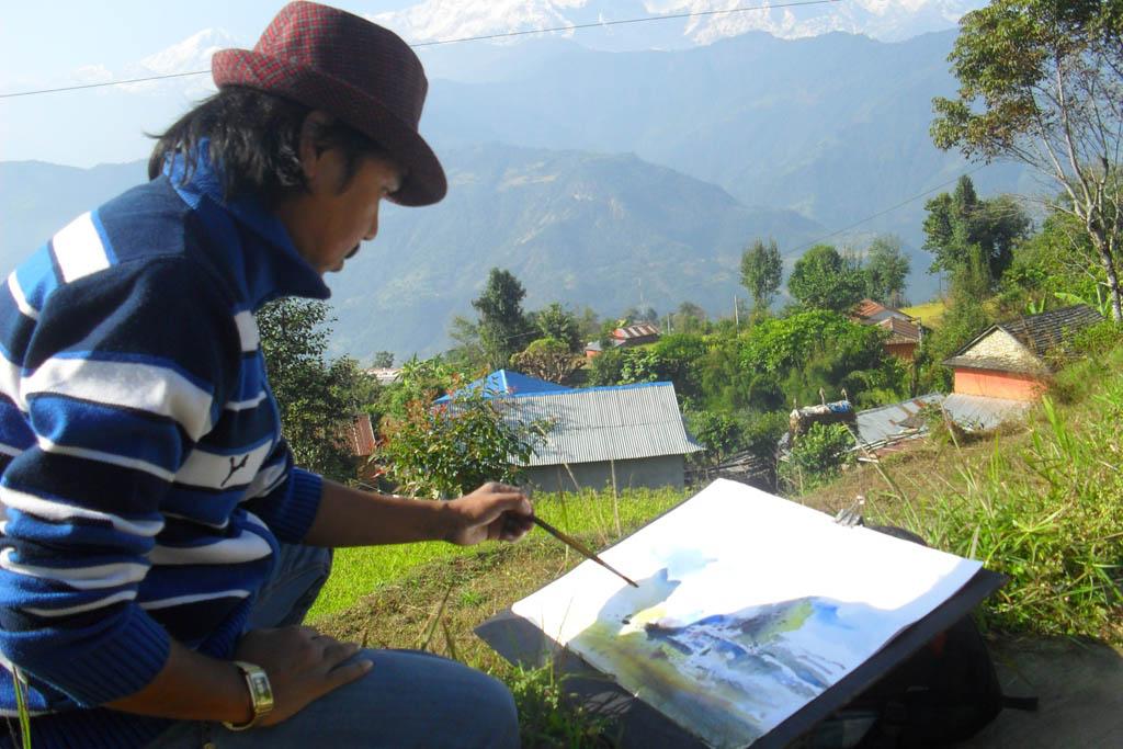 NB Gurung - Watercolour Artist