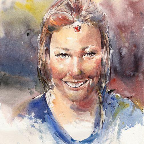 Louise 'Watercolour'