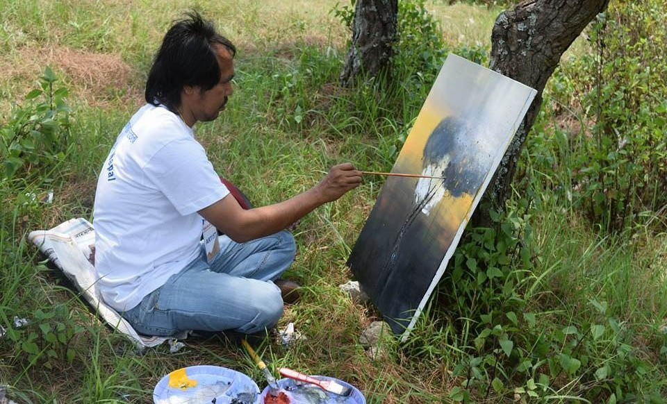 NB Gurung Watercolour Artist
