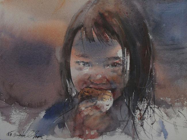 watercolour art commission