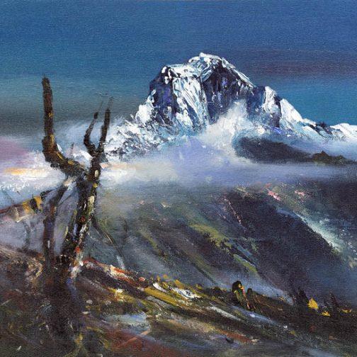Mount Daulagiri Acrylic